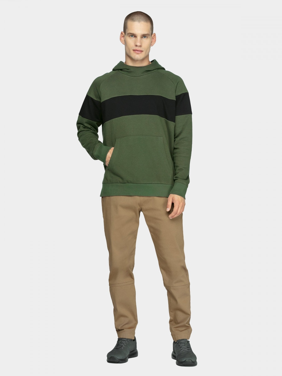 Men's sweatshirt BLM605 - dark green