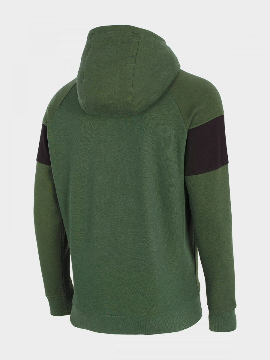 Men's sweatshirt BLM605 - dark green 3
