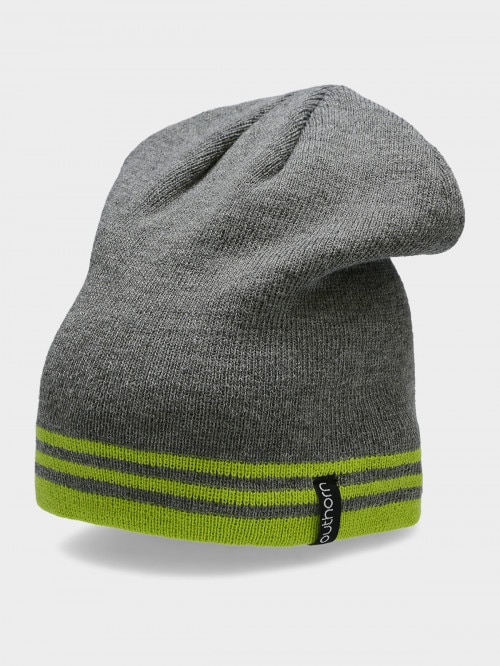 Men's hat CAM609  canary green