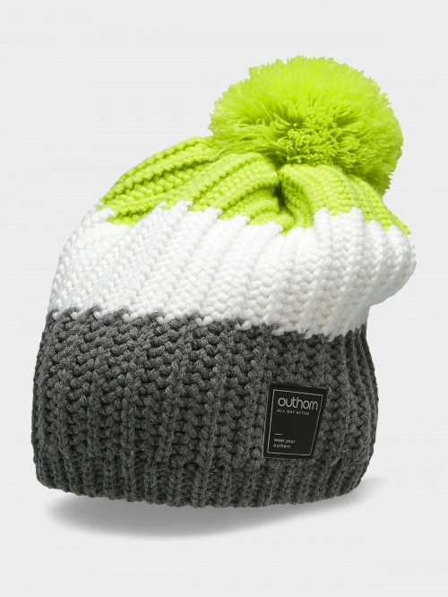 Men's hat CAM613  canary green