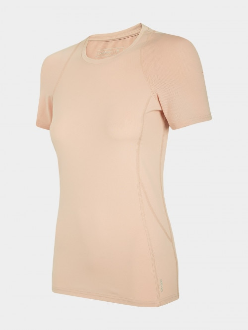 Women's active t-shirt TSDF606 - pale coral
