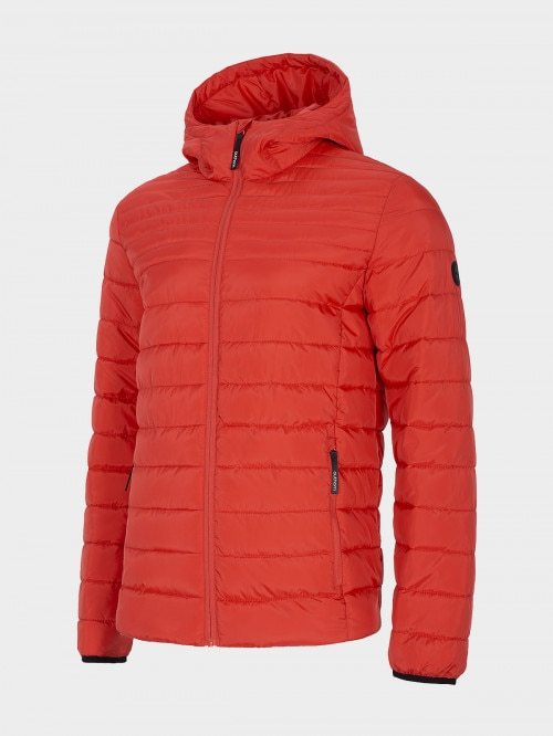 Men's down jacket KUMP603 - red