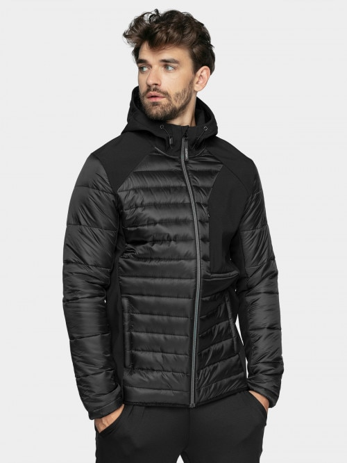 Men's softshell jacket SMF601  deep black