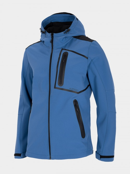 Men's softshell jacket SFM601 - cobalt