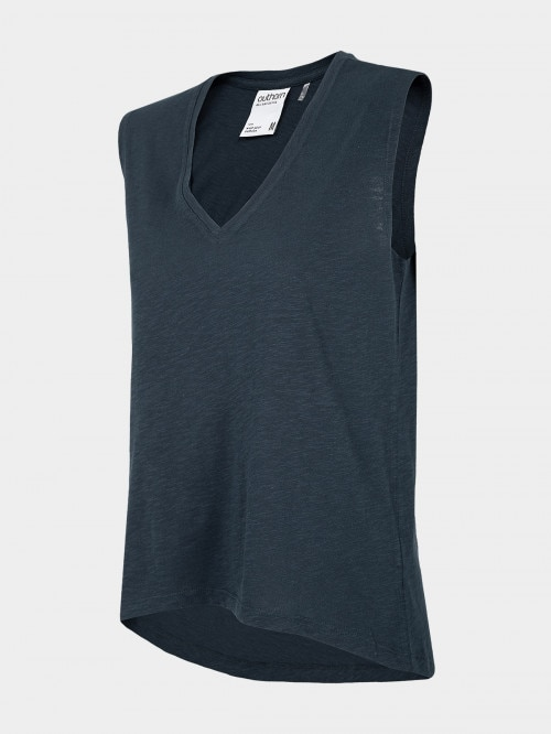 Women's tank top TSD603 - navy blue
