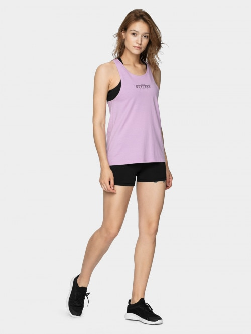 Women's tank top TSD609  light violet