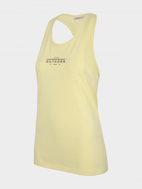 Women's tank top TSD609 - light yellow