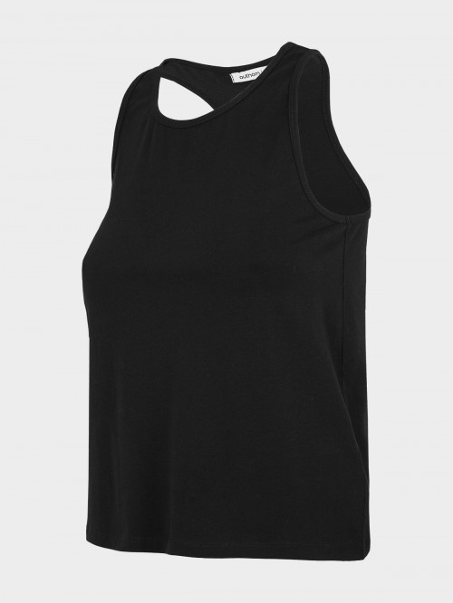 Women's tank top TSD610 - deep black