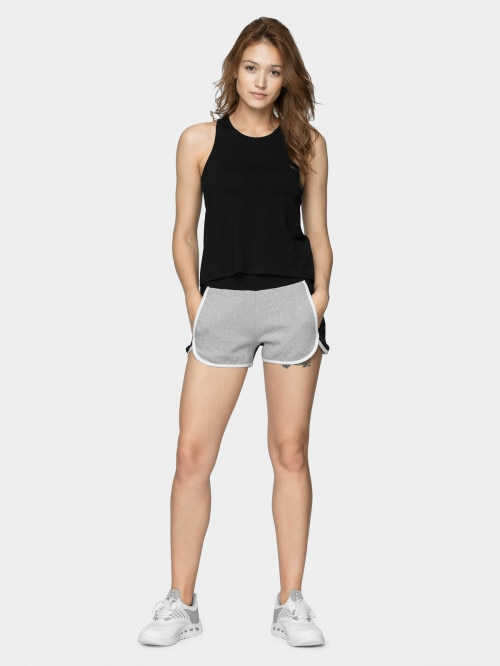 Women's tank top TSD610  deep black