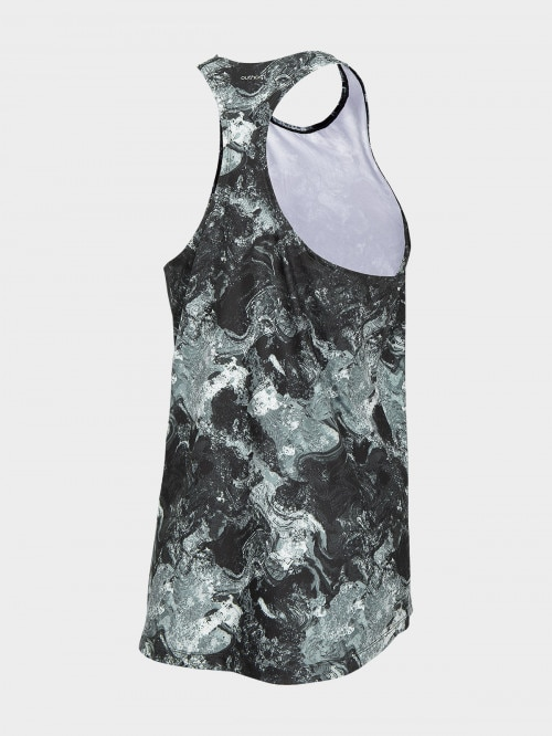 Womens' active tank top TSDF606 - multicolor allover